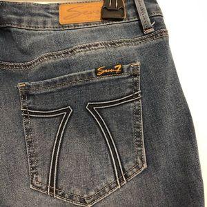 Seven7 Jeans - {Seven7} Dark Skinny Jeans